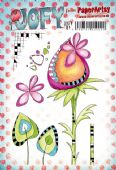 PaperArtsy Mounted Rubber Stamp Set JOFY Collection 81 - JOFY81